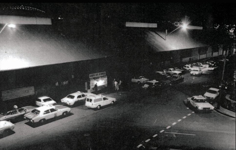 Harry's at the bottom of Burma Road (Wyld Street) under the awning of the now demolished wharf, Circa - 1972