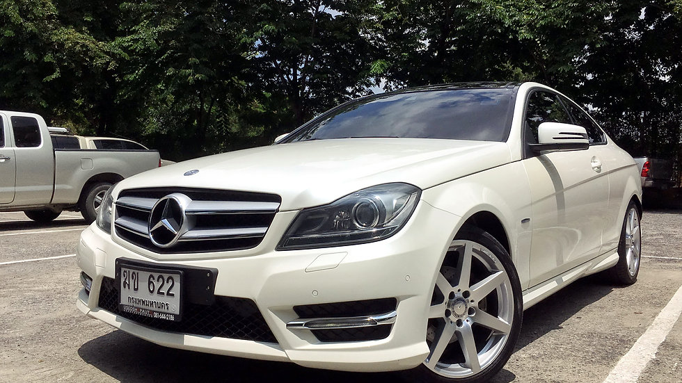 2012 MERCEDES BENZ C180 COUPE AMG