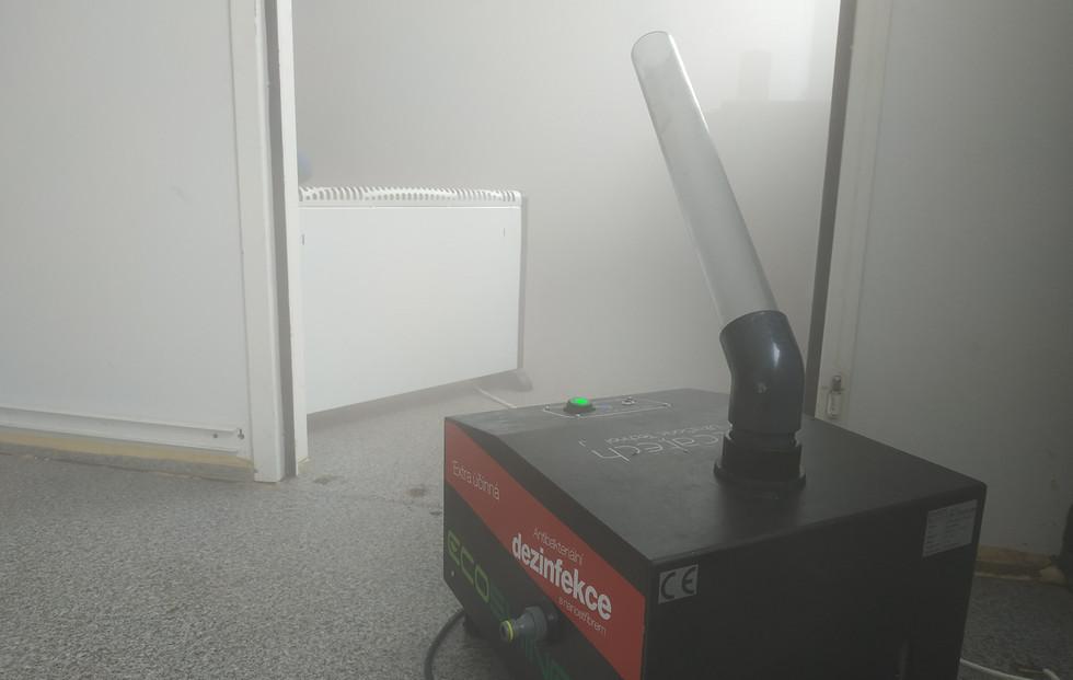 dezinfekcia karanténnych miestností