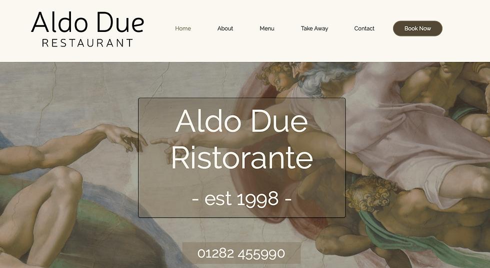 Aldo Due Website