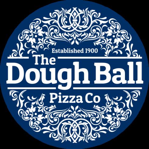 Te dough ball pizza co logo