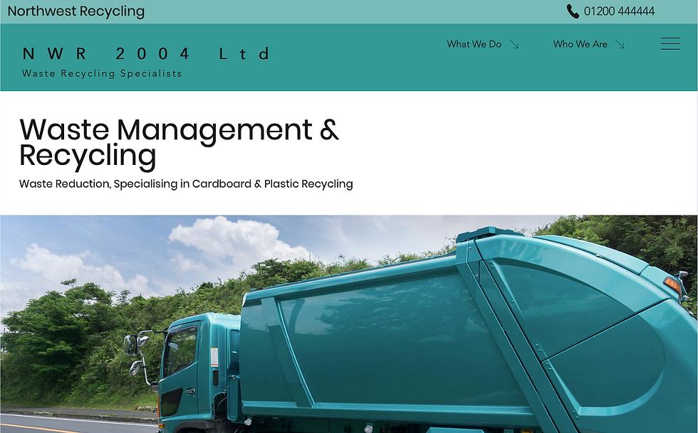 NWR Waste Brokers Website