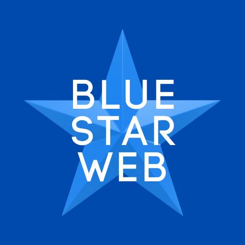 Blue Star Web logo