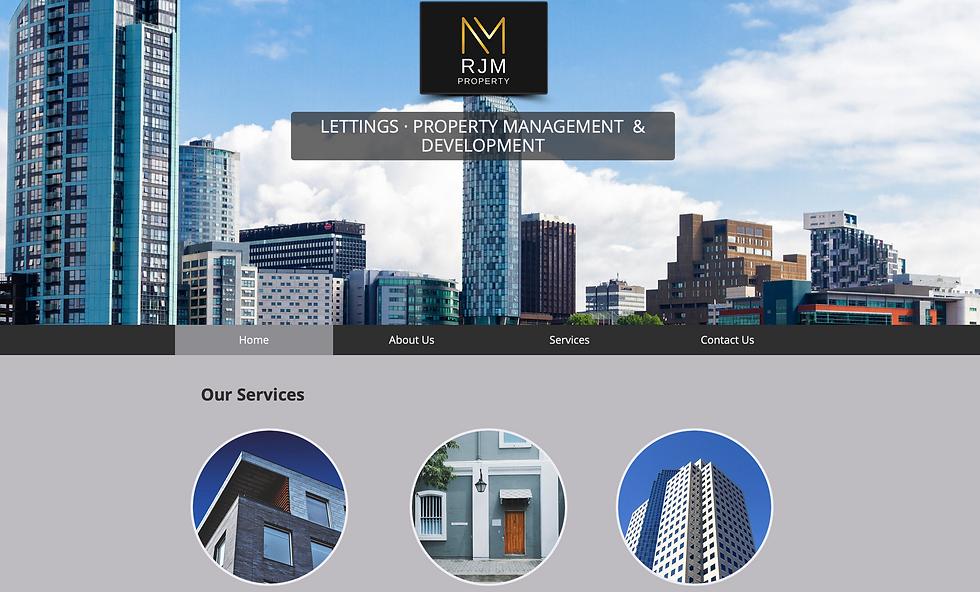 RJM Property Website