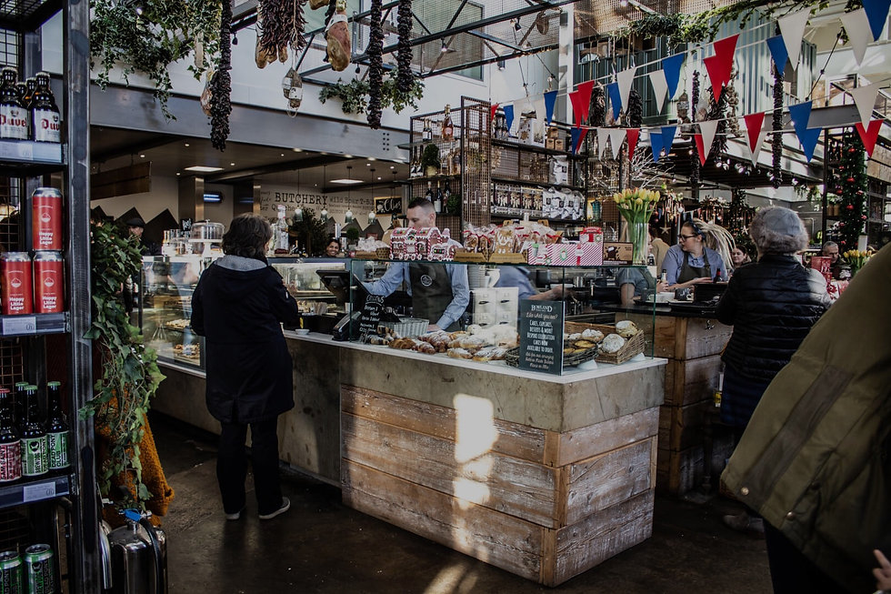 Bowland Food Hall Shop