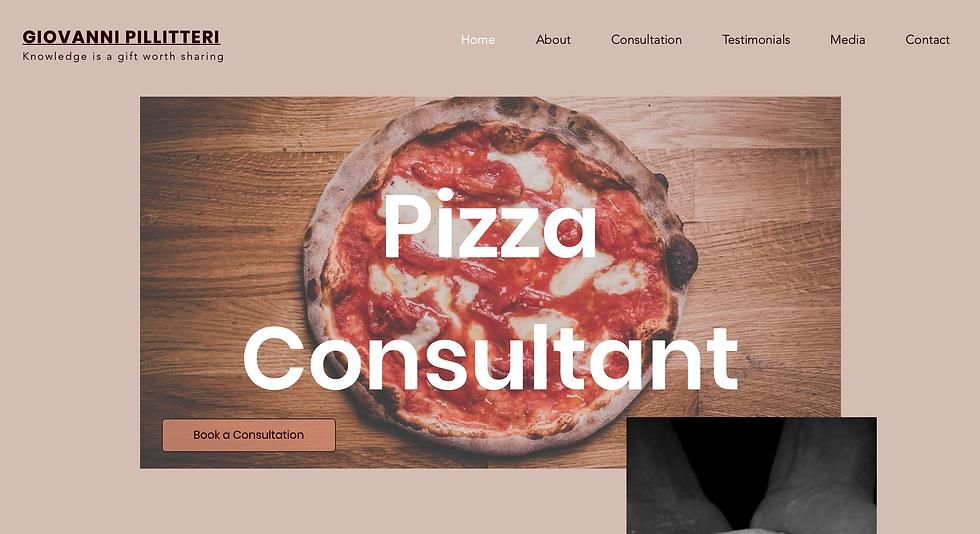 Pizza Consultant Website