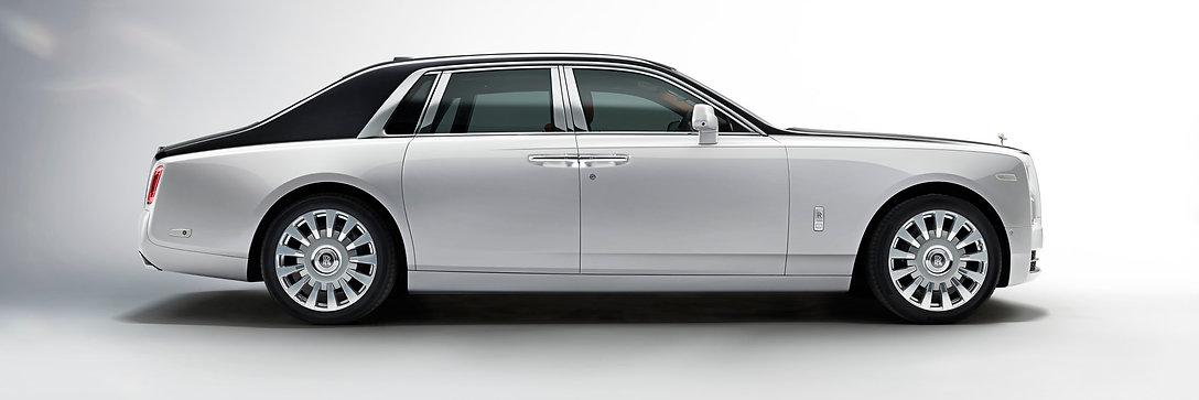 Rolls-Royce Phantom Packageside view