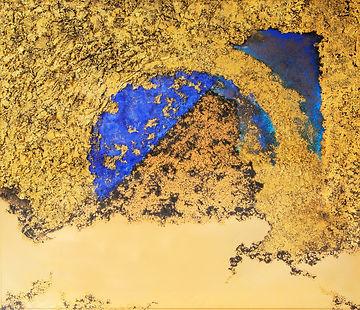 24K Gold Dubai Artwork by Bentley