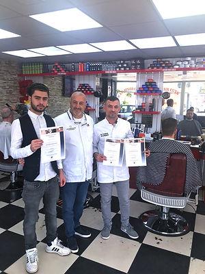 Barber training presentation