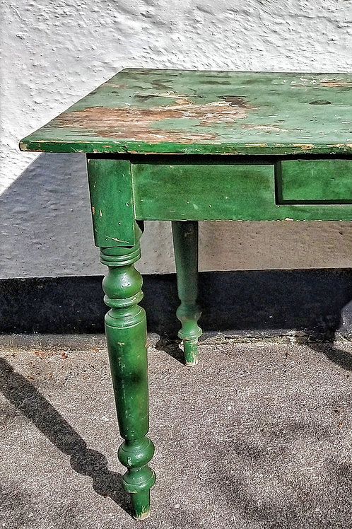 Antique French Painted Table