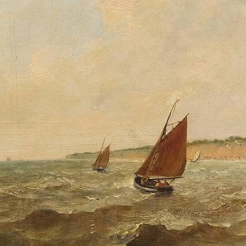 19th C Seascape - John Moore of Ipswich