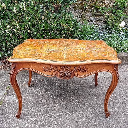 Antique French Walnut Centre Table