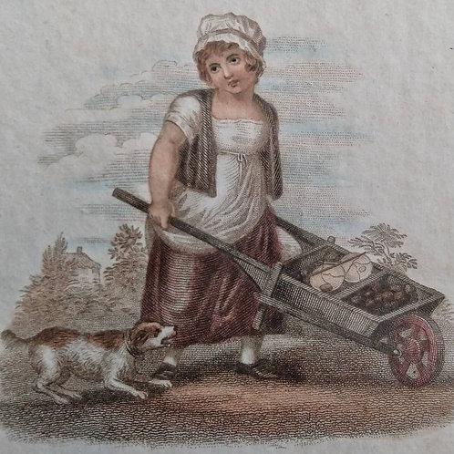 Georgian Stipple Engravings - 1812 - Set of 6