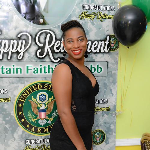 CAPTAIN FAITHLYN WEBB RETIREMENT PARTY