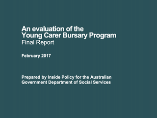 An Evaluation of the Young Carer Bursary Program
