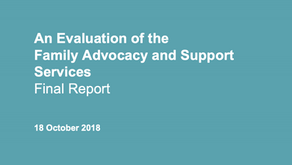 Evaluation of the Family Advocacy and Support Services
