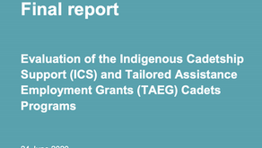 Evaluation of the Indigenous Cadetship Support (ICS)