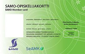 avoinAMK vihreä opiskelijakortti
