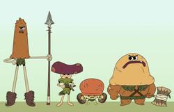 Mushroom Warriors