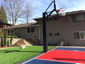sport court deck