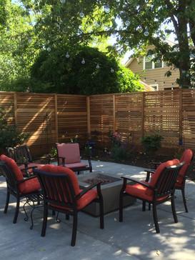 fence. patio