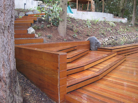deck and stairs