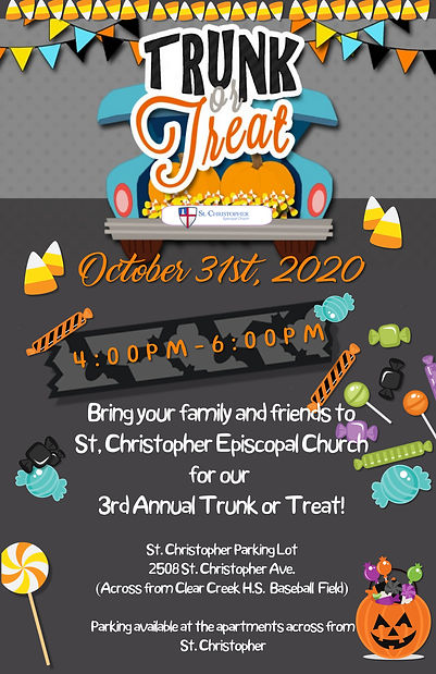 Copy of Trunk or Treat Halloween Candy K