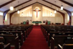 sanctuary, nave, pews, sacristy, church, altar, cross