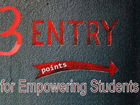 3 Entry Points for Empowering Students