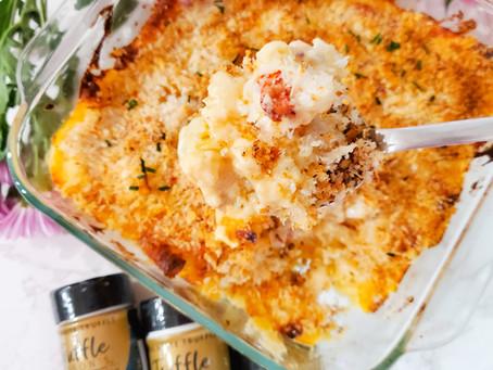 Lobster Mac 'n Cheese with Truffle Seasoning