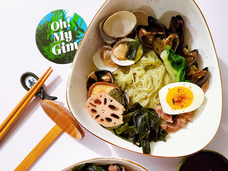 Green Tea Miso Soba Noodles