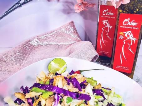 Gỏi Gà Roti with CHẤM Dipping Sauce