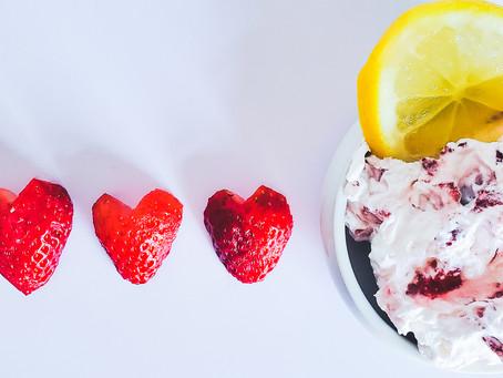Strawberry Lemon Fresh Cream