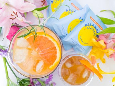 Orange Lemonade Iced Allawake Coffee