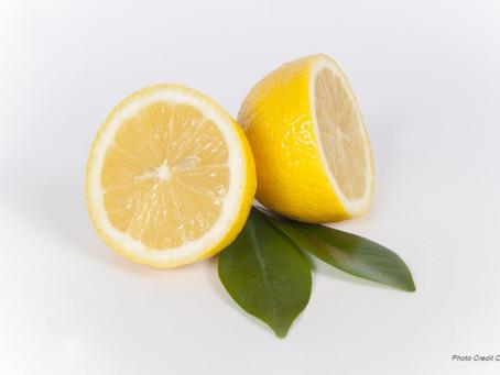 Lemon Cream Cheese Frosting (less sweet)