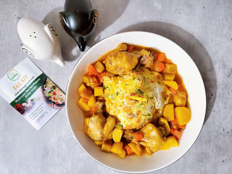 Chinese Curry Chicken and Egg
