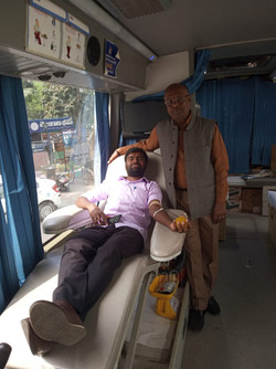 Blood Donation camp at New Delhi