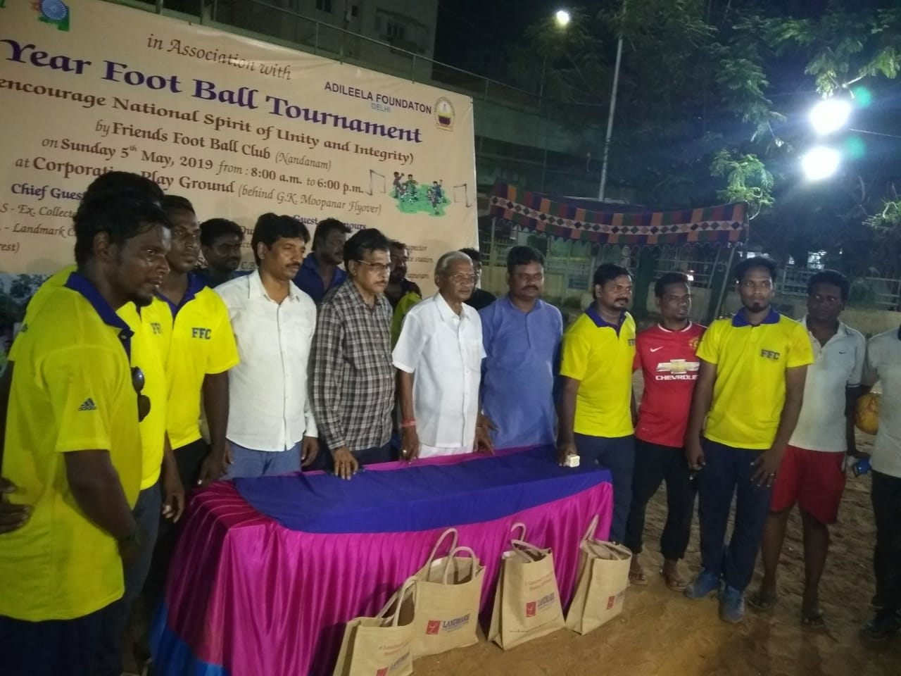 Football Tournament at chennai