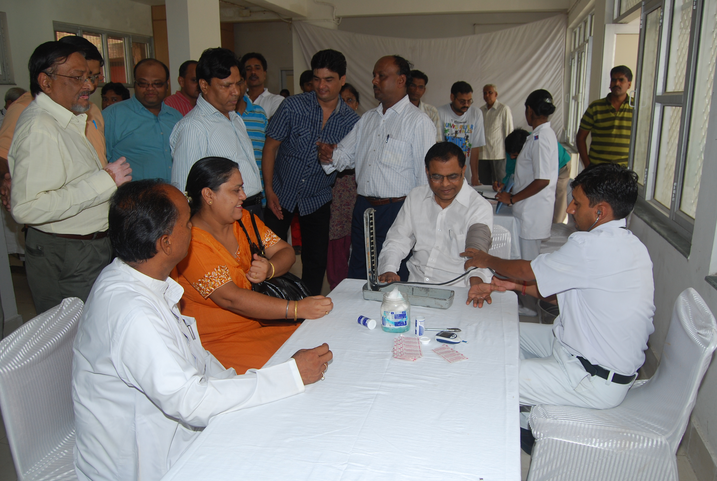 Free Health Check up camps