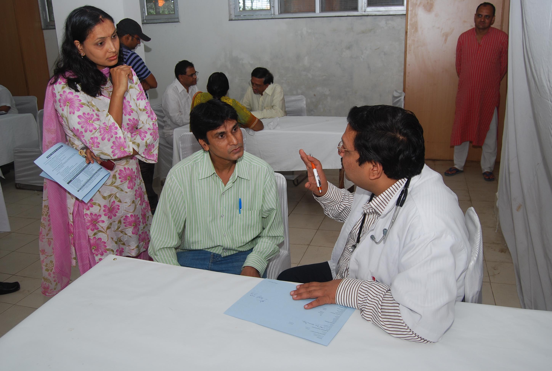 Free Health Check Up camp
