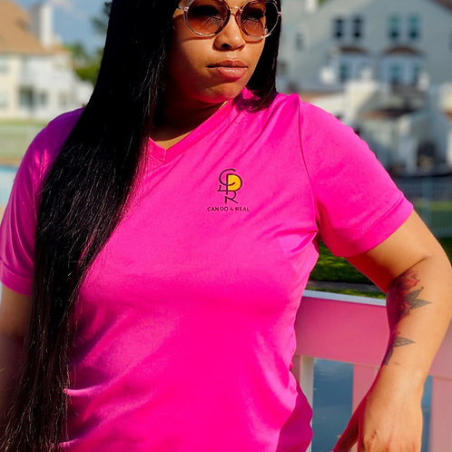 Can Do 4 Real Pink Tee