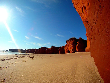 Plage de la Dune du sud, Îles-de-la-Madeleine