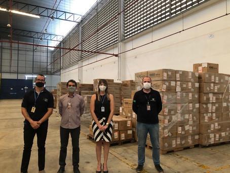 Importação de Máscaras N95 e Carbopol