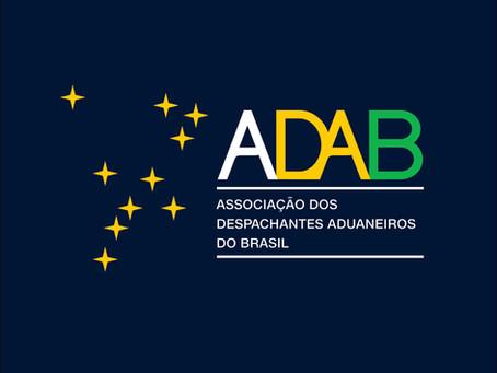 ADAB Associação dos Despachantes Aduaneiros do Brasil