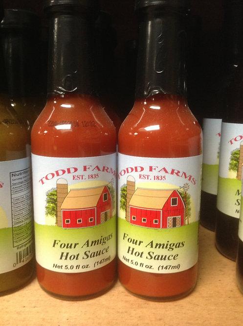Four Amigas Hot Sauce