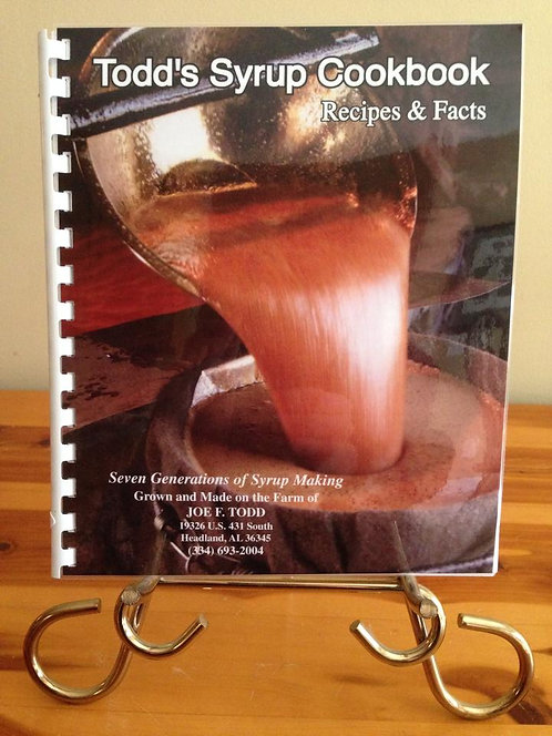Todd Family Syrup Cookbook