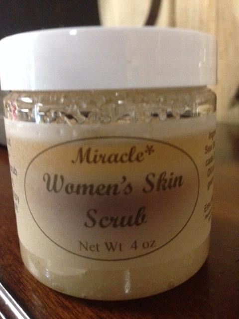Women's Skin Scrub