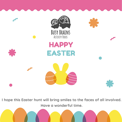 I hope this Easter hunt will bring smile