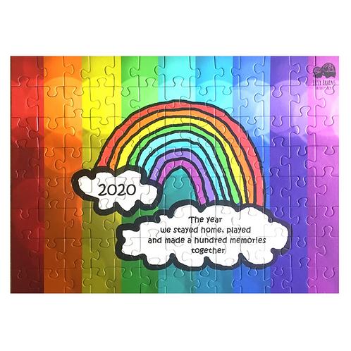 Commemorative 100 Piece Rainbow Jigsaw