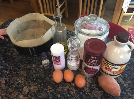'Healthy' Chocolate Cake Recipe